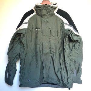 Columbia waterproof zip-up jacket